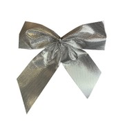 LUREX BOW - SMALL - Silver