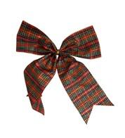 Tartan Bows - Red