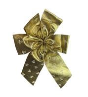 Fleur-de-lis Pattern Bows - Gold