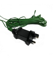 Power Cable for Pre Lit Garlands - Green