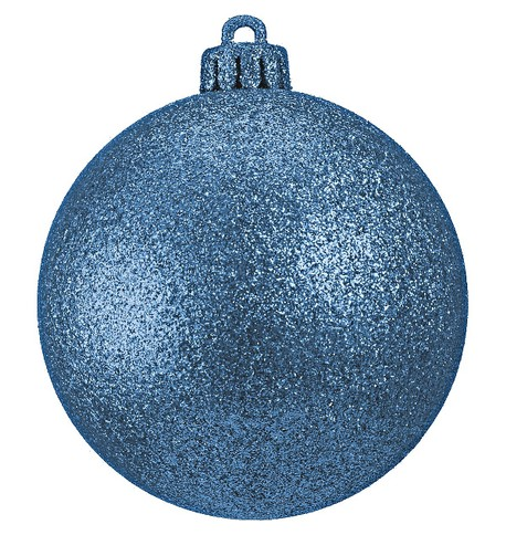 GLITTER BAUBLES - ICE BLUE Ice Blue