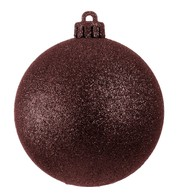 GLITTER BAUBLES - CHOCOLATE - Chocolate