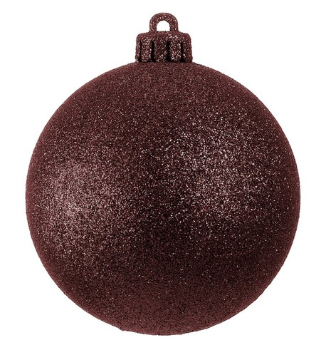 GLITTER BAUBLES - CHOCOLATE Chocolate