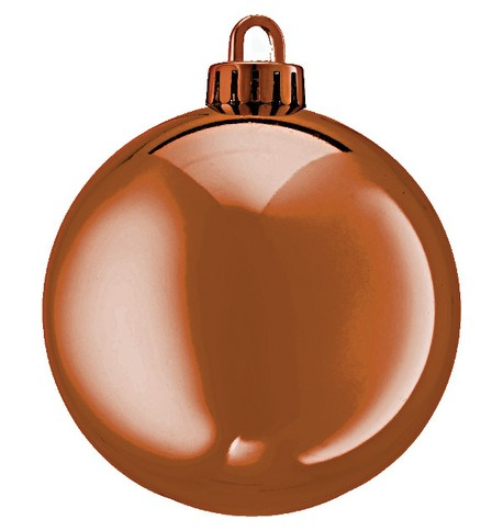 250mm SHINY BAUBLES - COPPER Copper