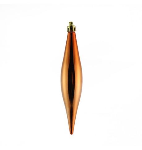 150mm Copper Drop Baubles Copper