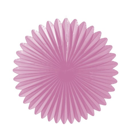Flower fan - paper fold out Blush Pink