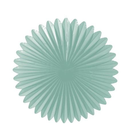 Flower fan - paper fold out Mint