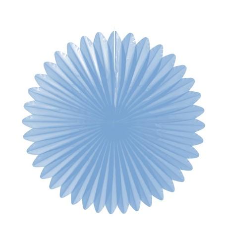 Flower fan - paper fold out Powder Blue