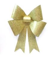 GLITTER BOWS - GOLD - Gold