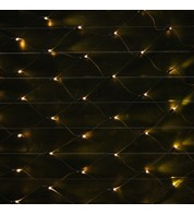 Commercial Grade Net Lights - Warm White on Green Cable - Warm White