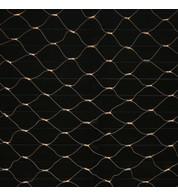 Commercial Grade Net Lights - Warm White on White Cable - Warm White on White Cable