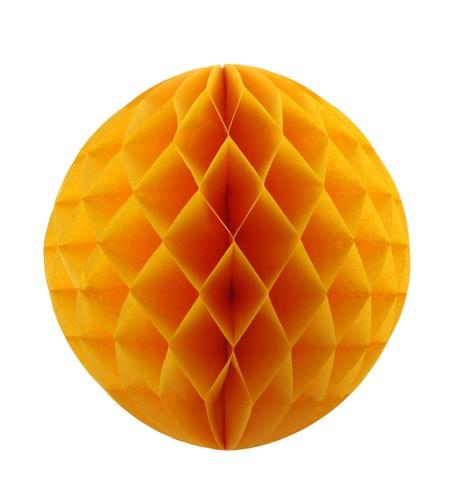 Gold Honeycomb Paper Balls Gold