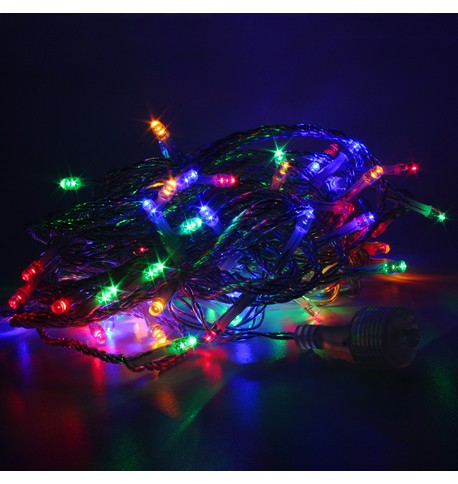 Elements Range Low Voltage Micro LEDs Battery Powered - Multicolour on Clear Cable Multicolour on Clear Cable
