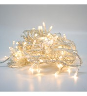 Elements Range Low Voltage Micro LEDs Battery Powered - Warm White on Clear Cable - Warm White