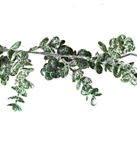 Frosted Eucalyptus Garland Frosted