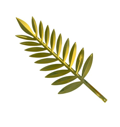 Gold Display Palm Leaf Gold