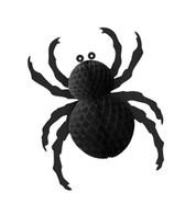 Foldout Paper Spider - Black