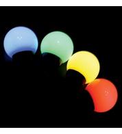 3m Festoons - Multicolour - Multi Colour on Black Cable