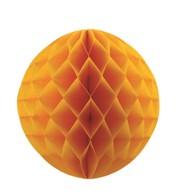Matt Honeycomb Paper Balls - Gold - Gold