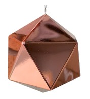 Geometric Baubles - Pink