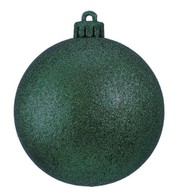 CLASSIC BAUBLES GLITTER - FOREST GREEN - Forest Green