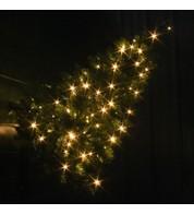 Prelit Wall Mounted Christmas Trees - Warm White