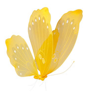 NET BUTTERFLY - YELLOW  - Yellow
