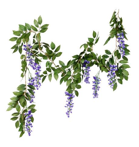 WISTERIA GARLAND - PURPLE Purple