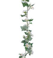 BLOSSOM & IVY GARLAND - WHITE - Warm White