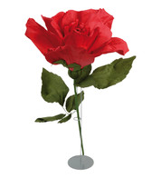 GIANT PARCHMENT ROSE - RED - Red