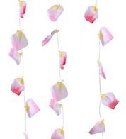 ROSE PETAL GARLAND - PINK - Pink