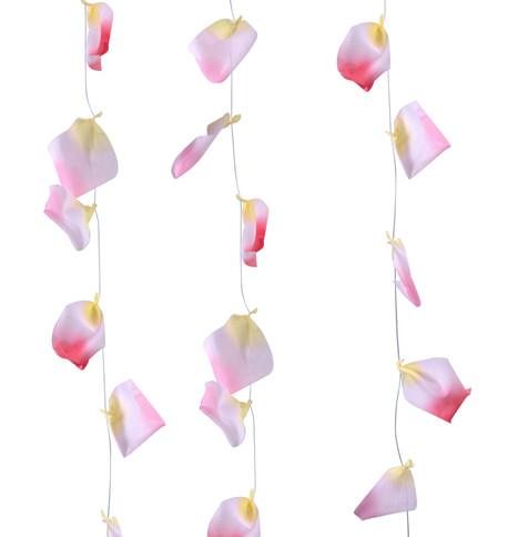 ROSE PETAL GARLAND - PINK Pink