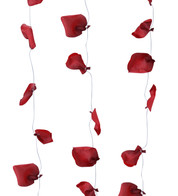 ROSE PETAL GARLAND - RED - Red
