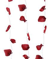 ROSE PETAL GARLAND - RED - Red