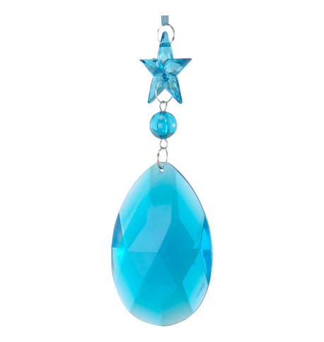 JEWEL DROP STAR & ALMOND - TURQUOISE Turquoise