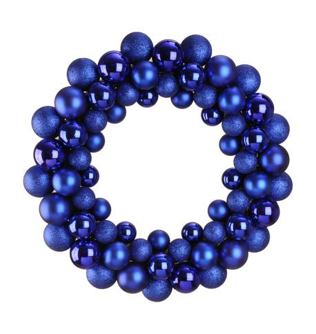 BAUBLE WREATH - BLUE Blue