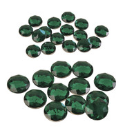 ROUND EMERALDS - Green