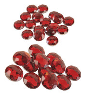 ROUND RUBIES - Red