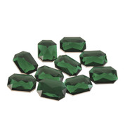 RECTANGULAR EMERALDS - Green