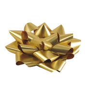 GIANT PARCEL BOW - GOLD - Gold