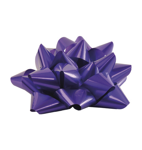 GIANT PARCEL BOW - PURPLE Purple