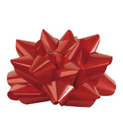 GIANT PARCEL BOW - RED - Red