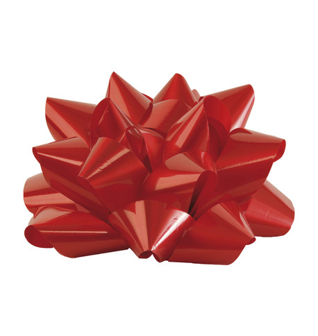 GIANT PARCEL BOW - RED Red