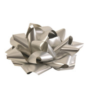 GIANT PARCEL BOW - SILVER - Silver