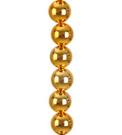 SHINY BAUBLE GARLAND - GOLD - Gold