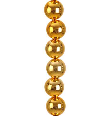 SHINY BAUBLE GARLAND - GOLD Gold