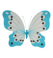 BUTTERFLY GLITTERED - TURQUOISE - Turquoise