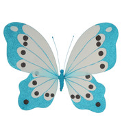 BUTTERFLY GLITTERED - TURQUOISE - Blue