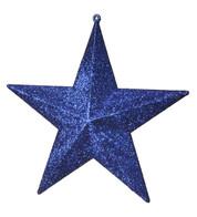 GLITTER STARS - BLUE - Blue