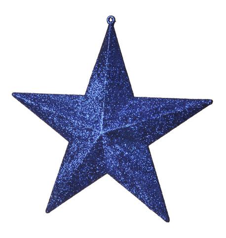 GLITTER STARS - BLUE Blue